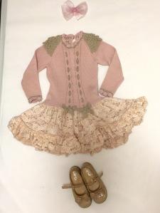 Vestido: Lollitos Zapatos: Zapatería Joven Lazo: Nataly